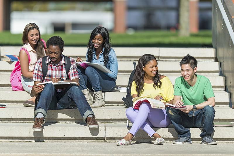 Diverse University Students